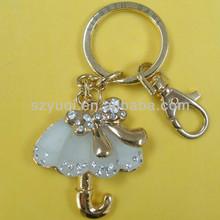 Nice umbrella key chains metals