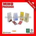 Papel kraft envasadodealimentos bolsas/donas bolsa de papel kraft