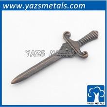 custom made metal retro decoration gadget treasured sword
