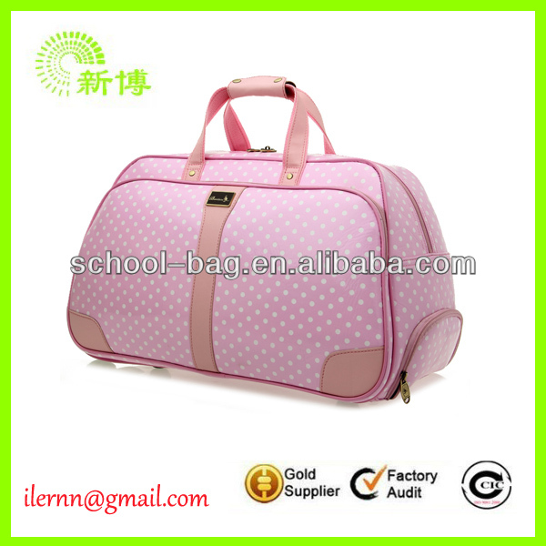 Hot selling leather travel bag with good quality