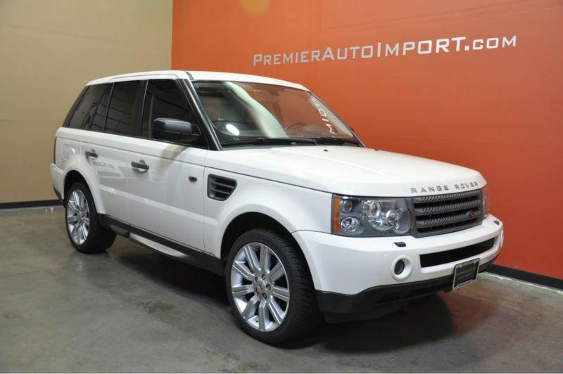 2009 range rover hse sport blanc export nouvelle et les. Black Bedroom Furniture Sets. Home Design Ideas