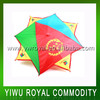 Logo Printed Sport Fan Flag Umbrella Hat
