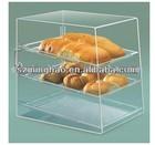 Clear Acrylic Cake Showcase box cupcake display / acrylic cupcake display cabinet