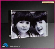 150mm High quality Elegant Crystal Clear Acrylic Photo Frame
