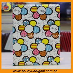 hot selling Korea Hot Sunflower Flower series of ultra-thin smart cover case for ipad mini Sleep bracket shell