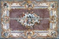 BISINI marble floor design pictures, marble carpet, marble design for home