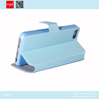 New products 2014 portable with stand portfolio wallet leather case for iphone 5c