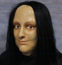 Leonardo da Vinci 's most celebrated paintings Adult size realistic Mona Lisa Mask