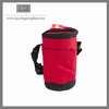 Thermal ice chest insulated lunch rolling cooler bag