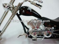 Metal promotional motorcycle gift