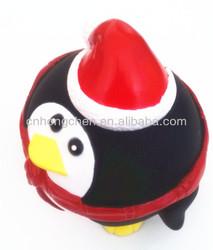 2013 Christmas dog vinyl toy Pet Toy VINYL PENGUIN DOG TOY