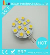 round 12SMD cool white 5050 G4 LED light