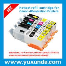 High quality compatible ink cartridges for canon pgi-550 cli-551(Pixma IP7250/MG5450/MX725/MX925/MG6350)