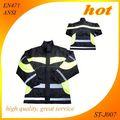 seguridad chaqueta de seguridad ropa de trabajo reflexivo de fuego la ropa chaqueta de rescate