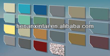 color chart 3.0mm thickness aluminum curtain wall