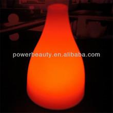 solar led illuminate flower vase for outdoor