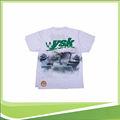 camisetas de algodón con agradable impresión de la pantalla y cómodo telas