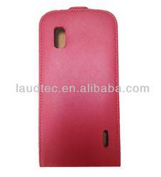 Leather Case For LG E960 Nexus 4, Ultra Slim Flip PU Leather Case for LG Nexus 4 E960, Laudtec
