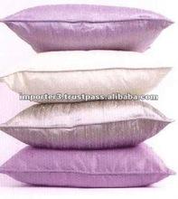 Organic Cotton Cushion Cover / Ikkat Silk Cushion Cover / Ikat Printed Cushion Cover