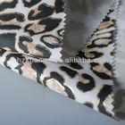 wholesale leopard print fabric ladies dress fabric