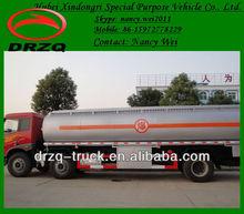 FAW road oil tanker