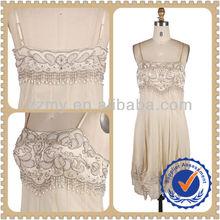 Fashion Bling Pearl Beaded Lingerie Women Sexy Dress