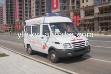 NJ6487SDES6 4x2 IVECO ambulance vehicle