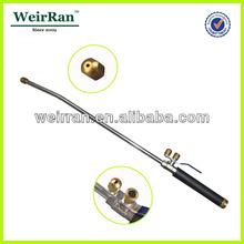 (21947) garden heavy duty aluminum long nozzle high pressure water portable car wash spray gun soap