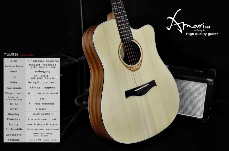 Cutaway Acoustic Guitar Kit Amari Cutaway Acoustic Guitar