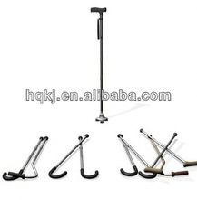 new coming multi-function aluminum sports camping walking sticks crutch shaped pen