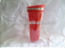 Top quality beautiful plastic clear white 5oz cup