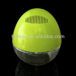 KS-02LN yellow with 12pcs LED lights negative ion home air purifiers