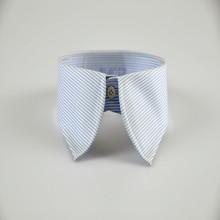 men's tight v neck blank white t shirt oxford collar style