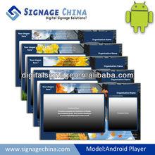 Android gratuita sinalização digital servidor