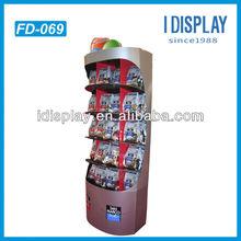 Eco-friendly pop snack display shelving