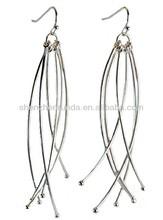Tassel long pattern allergy free stainless steel fashion Bohemia for women drop dangle pendants earrings jewellery