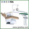 Shanghai Greeloy Dental Chairs Unit Dentist Chair Unit Dental Instruments