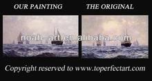 nuovo design pittura a olio velieri da xiamen arte noah