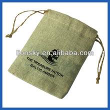 promotion screen printed burlap sack