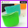 Cheap women bag candy bag rubber shopping bag