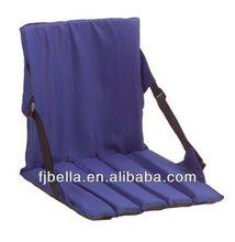 Folding Stadium Seat Cushion with Back Blue