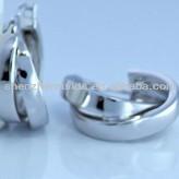 Stainless steel allergy free fashion women's hoop earrings jewellery