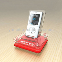 Showcase Used Custom Made Modern Acrylic Cell Phone Security Display Holder