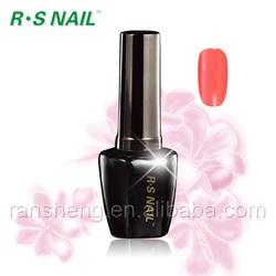2013 new hot sell UV/LED soak off R.S.Nail magic color one step gel polish