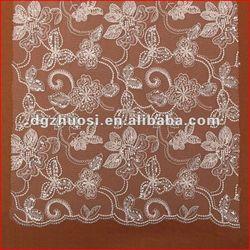 Fashion eco-friendly custom lace curtains