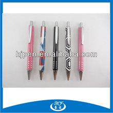 Maze Pattern Click Metal Ballpoint Pen