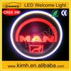New design car lights with 3d led logo