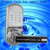 key lock push button