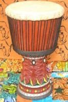 Djembe (African Drum) made in Guinea