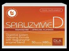 DLA Naturals SpiruZyme-D